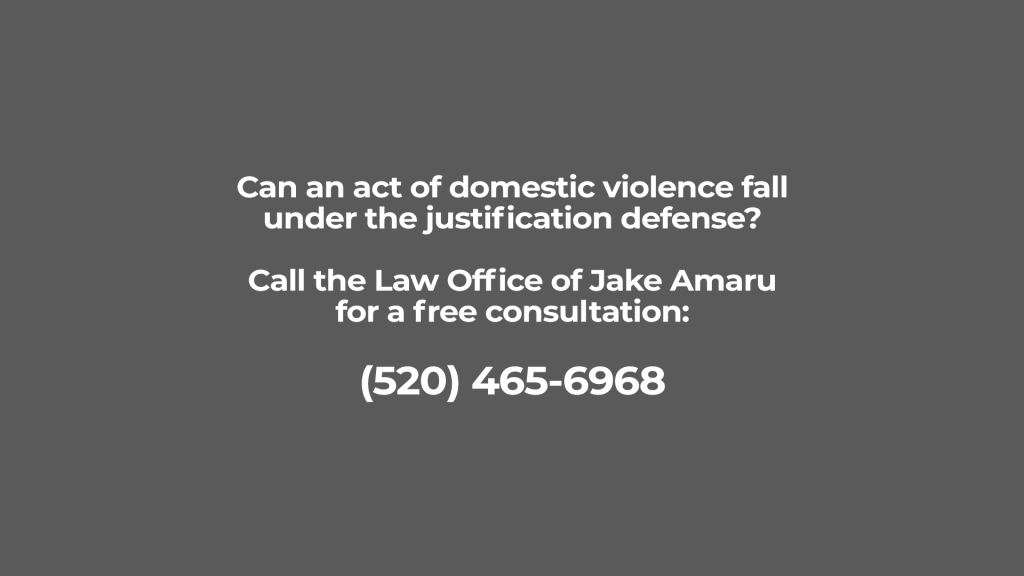 Domestic Violence and Justification Defense